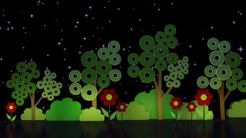 Kids TV Studio Set 01 - Virtual Background Loop Footage