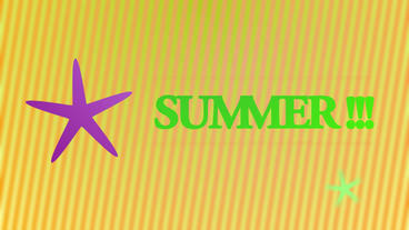 Summer animation After Effects Project