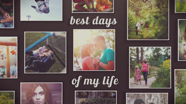 120 Photo Instagram Slideshow After Effects Template