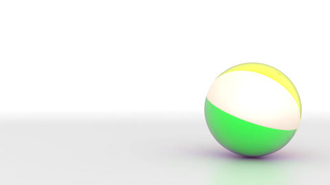 Beach Ball Stock Animation stock footage