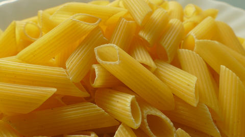 4k, Pasta On A Plate stock footage