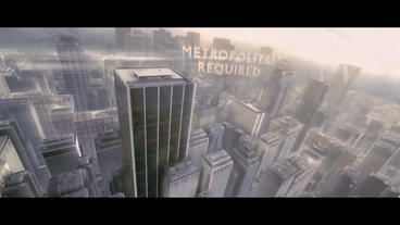 Epic City Cinematic Trailer Plantilla de After Effects