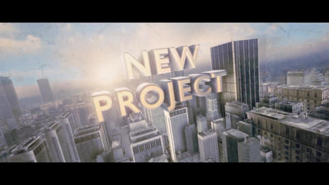 Epic City Cinematic Trailer After Effects Template