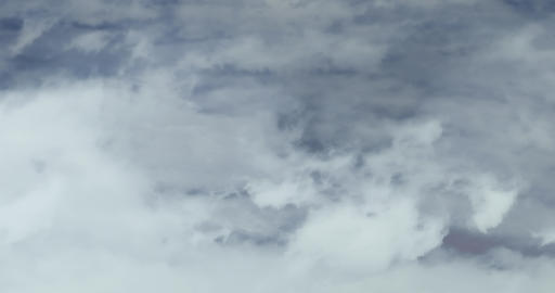 Loopable: Above Clouds stock footage