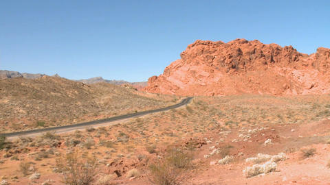 A desolate road in the Southwest Live Action