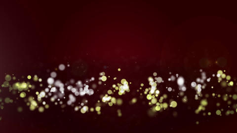 Circle And Particle Background #12 stock footage