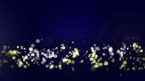 Circle And Particle Background #13 stock footage