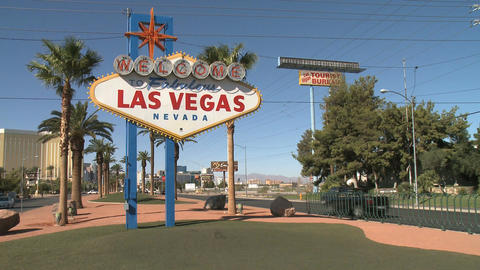 Sunny afternoon in Las Vegas Live Action