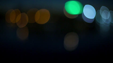 Abstract Bokeh stock footage