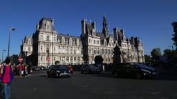 Hotel De Ville stock footage
