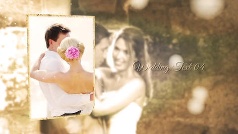 Wonderful Wedding Slideshow After Effects Template