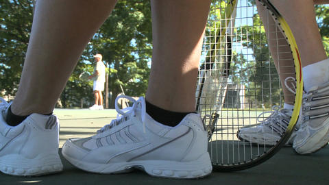 Low angle view of tennis Footage