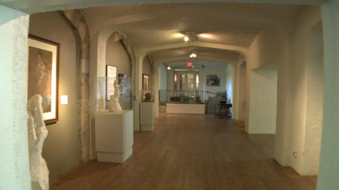 Inside the Stamford Museum Stock Video Footage