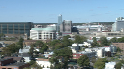 Aerial View of City of Stamford (2 of 9) Stock Video Footage
