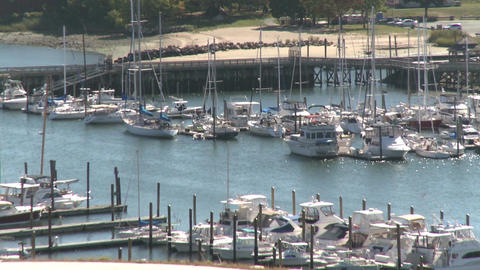 Stamford Waterfront (2 of 2) Stock Video Footage