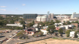 Aerial View of City of Stamford (5 of 9) Stock Video Footage