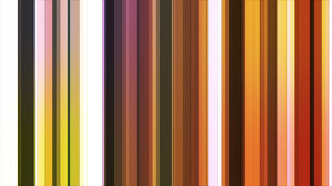 Broadcast Twinkling Hi-Tech Bars, Multi Color, Abstract, Loopable, HD Animation