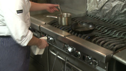 Master Chef at work (5 of 7) Stock Video Footage