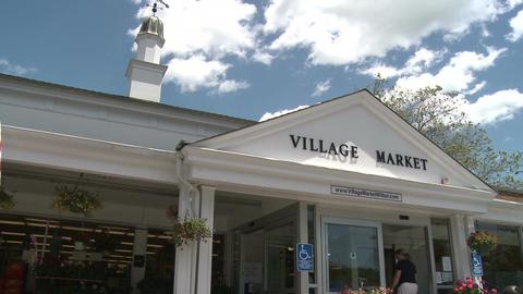 Village market (1 of 2) Stock Video Footage