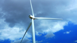 Concept Of Using Natural Resources Intelligently.Wind... Stock Video Footage