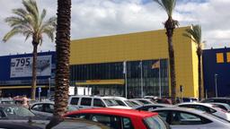 IKEA store in Netanya Israel Stock Video Footage