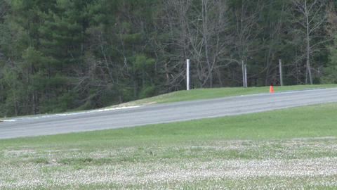 Mazdas racing (4 of 9) Stock Video Footage