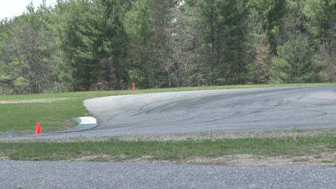 Tuned up cars racing (4 of 9) Stock Video Footage