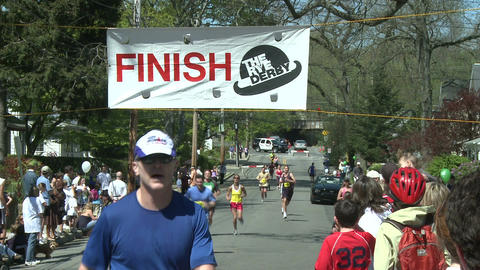 Marathon runners (1 of 10) Footage