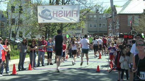 Marathon runners (9 of 10) Stock Video Footage