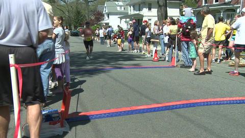 Marathon runners (6 of 10) Stock Video Footage