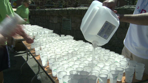 Marathon hydration (2 of 4) Footage