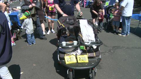 Marathon festivities (3 of 13) Stock Video Footage