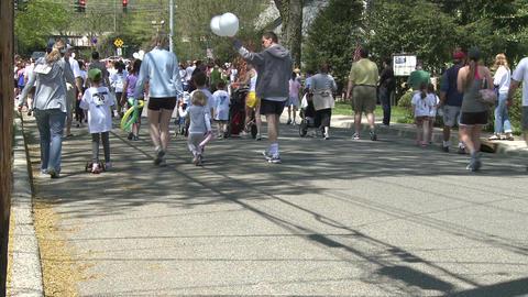 Large marathon crowd (11 of 12) Footage