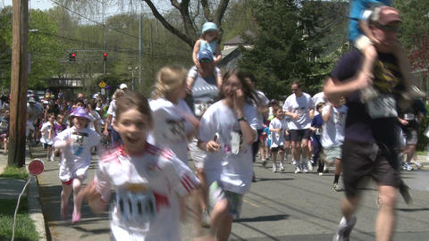 Marathon festivities (8 of 13) Stock Video Footage