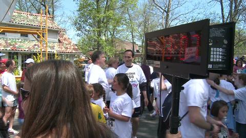 Marathon festivities (10 of 13) Stock Video Footage