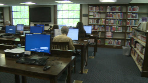 Local library (1 of 4) Footage