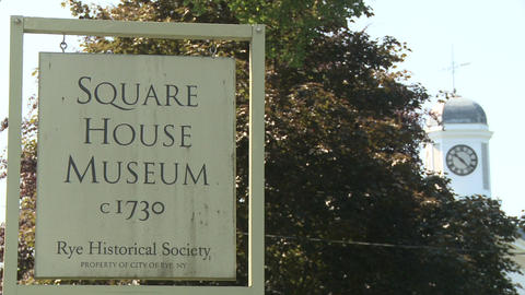 Square House Museum (1 of 1) Stock Video Footage