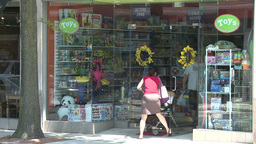Views of shopping (4 of 7) Stock Video Footage