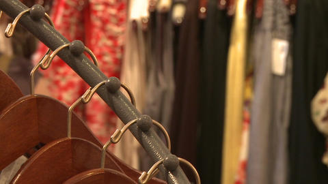 Views of shopping (6 of 7) Stock Video Footage