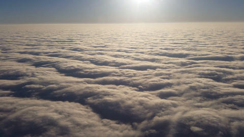 Above The Clouds stock footage