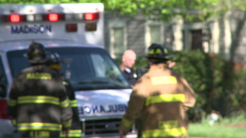 Emergency crews respond after an accident (8 of 8) Live Action