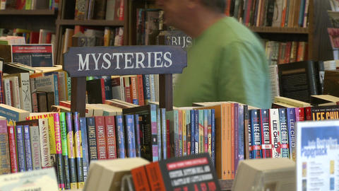The Hickory Stick Bookshop interior (5 of 5) Stock Video Footage