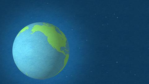 Felt Earth 35 stock footage
