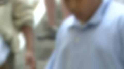 Grammar school students leaving school Live Action