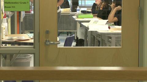 A look inside a classroom Footage