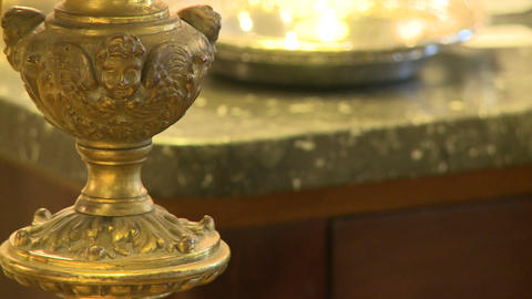Brass antique piece Live Action