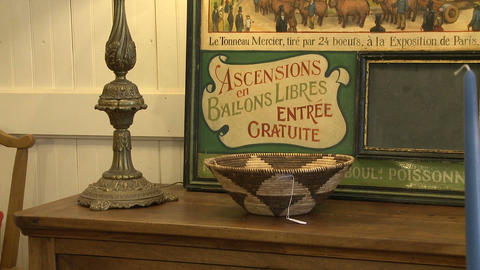 Shopping in a small furniture store (5 of 7) Stock Video Footage