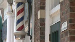 Barber shop sign Footage