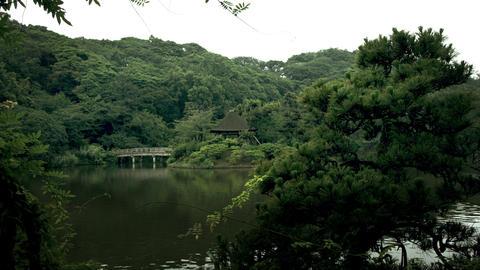 summer house in Sankeien Footage
