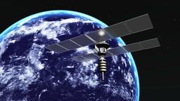 人口衛星 Animation